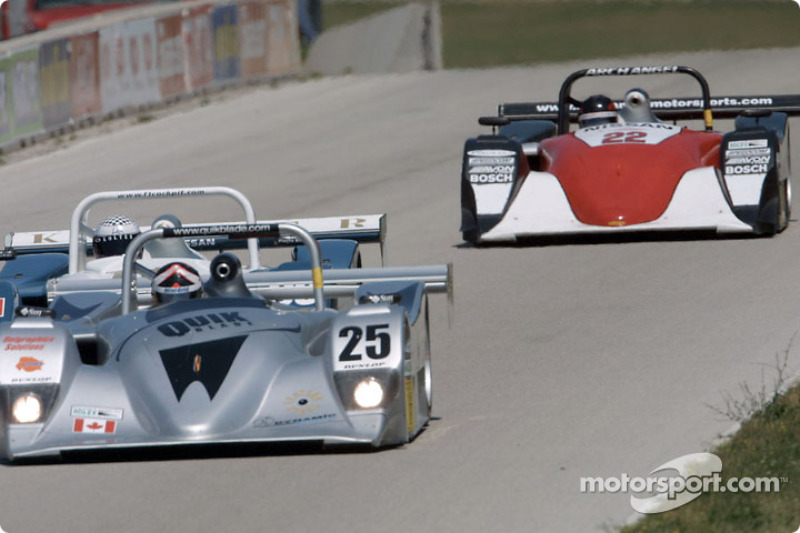 A trio of SRPII entries battle for the lead