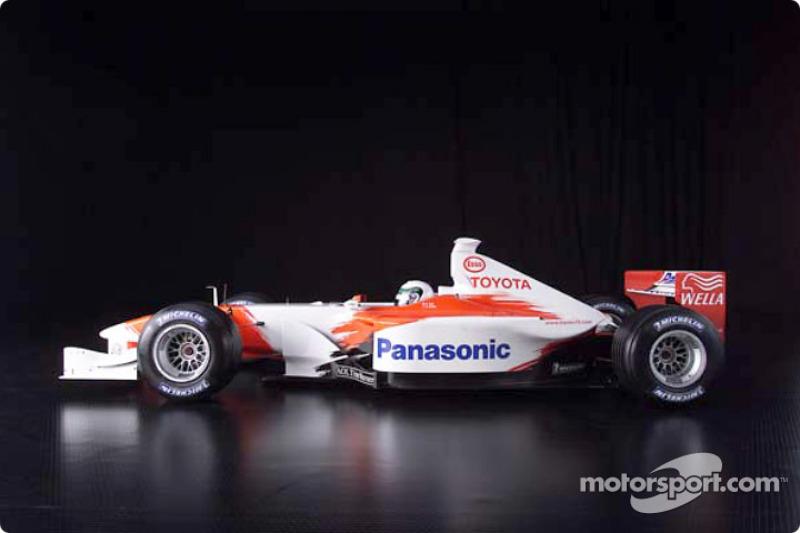 2001 Toyota Formula 1 TF102