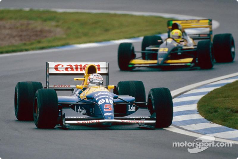 1992: Nigel Mansell, Williams