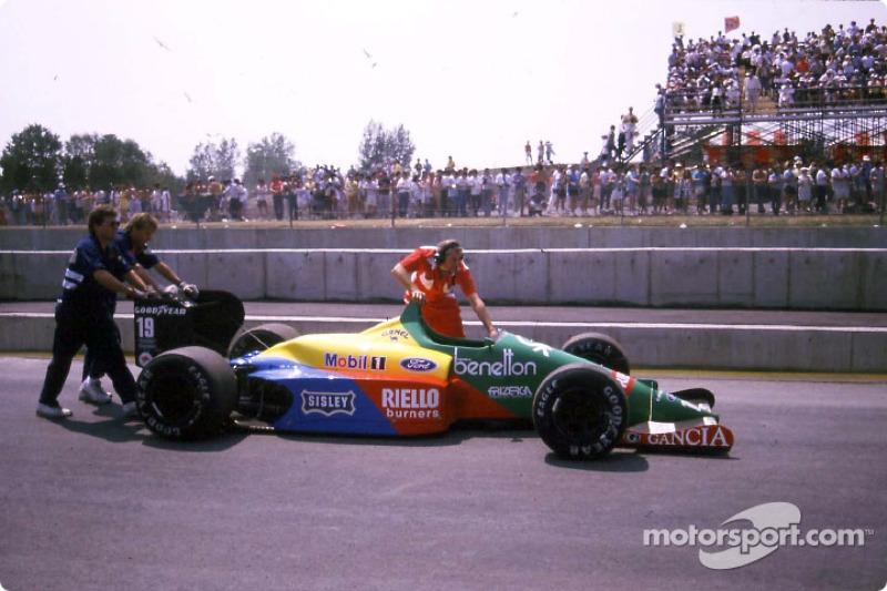 Après la course : Benetton