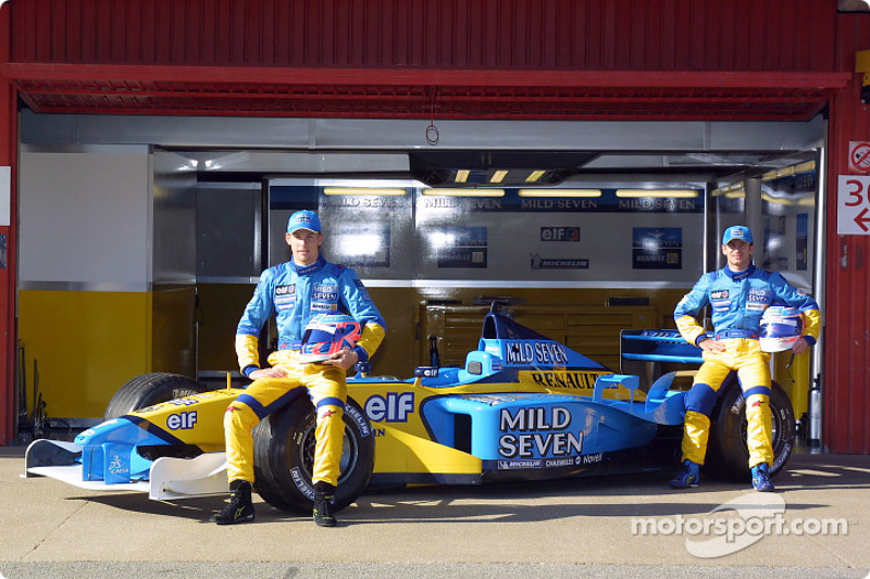 Jenson Button and Jarno Trulli