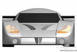 Daytona Prototype, front