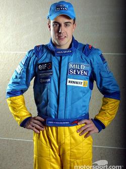 Test driver Fernando Alonso