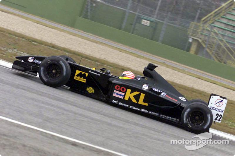 Alex Yoong dans la nouvelle Minardi Asiatech PS02