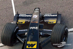 Front nose of the Minardi Asiatech PS02