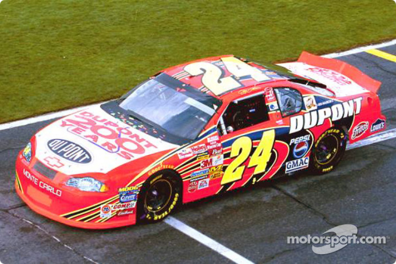 Jeff Gordon Daytona-Shootout 2002