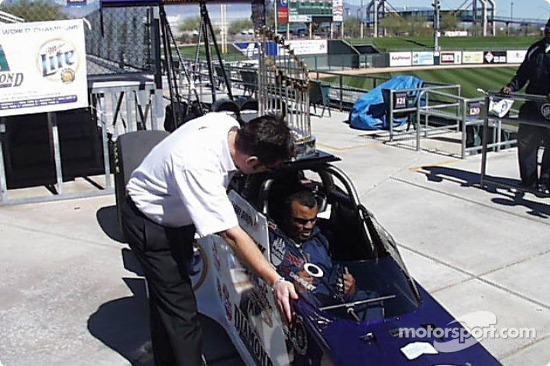 Unveiling of the MIller Lite - Arizona Diamondbacks Top Fuel Dragster