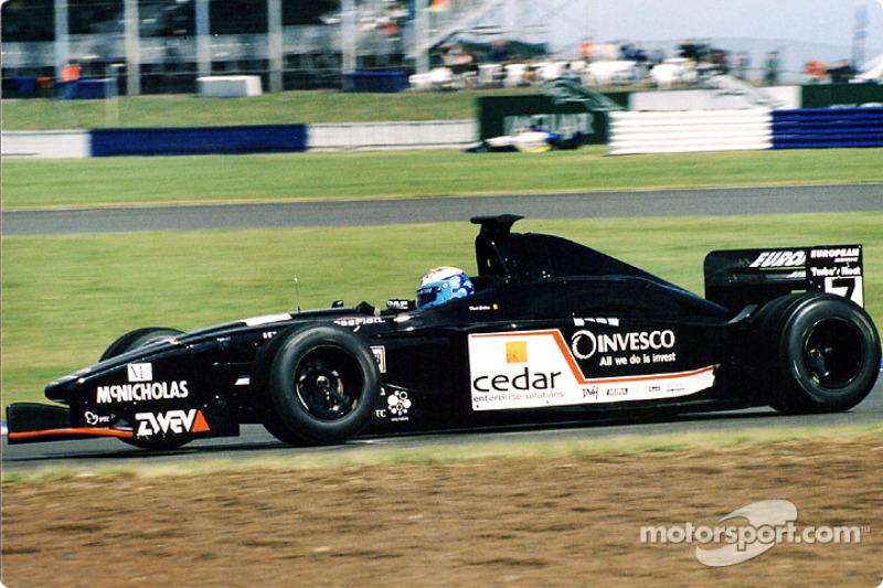 David Saelens, European Minardi prior to his practise accident