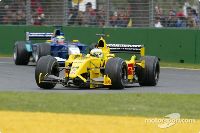 2002: Jordan EJ12