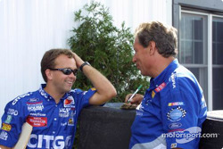 Crew Chiefs Frankie Stoddard and Jimmy Fenning
