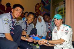 Tourism in Kuala Lumpur: Nick Heidfeld