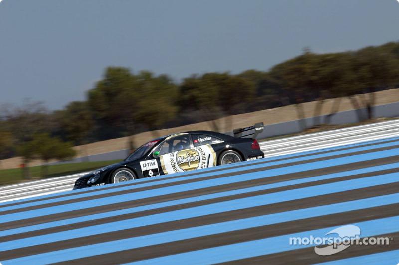 Marcel Fassler in the AMG Mercedes-Benz CLK-DTM 2002