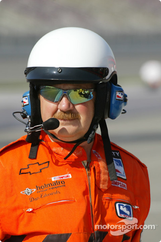 IRL safety crew member