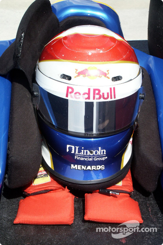 Casque d'Eddie Cheever