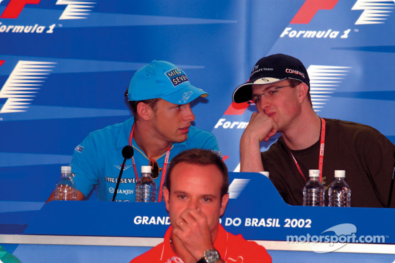 Thursday press conference: Jenson Button and Ralf Schumacher discussing