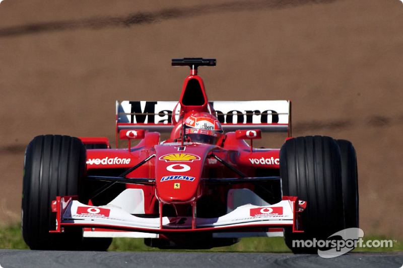 Michael Schumacher - Pole nº 50: GP do Japão de 2002