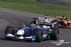 Felipe Massa et Jacques Villeneuve