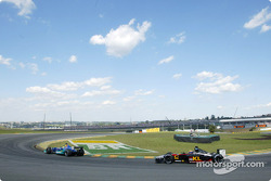 Felipe Massa y Mark Webber