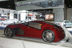 Lexus concept from movie