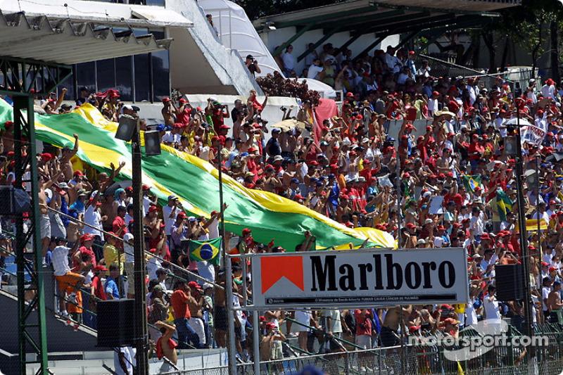 Fans de Rubens Barrichello