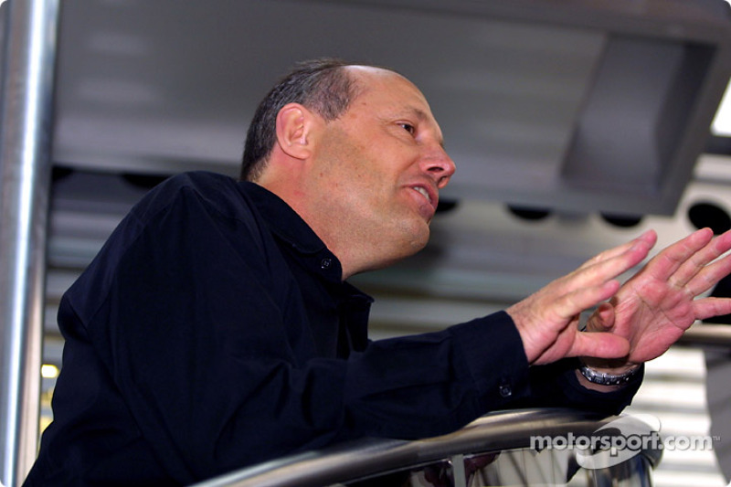 The West McLaren Mercedes Team Communications Centre opening event: Ron Dennis