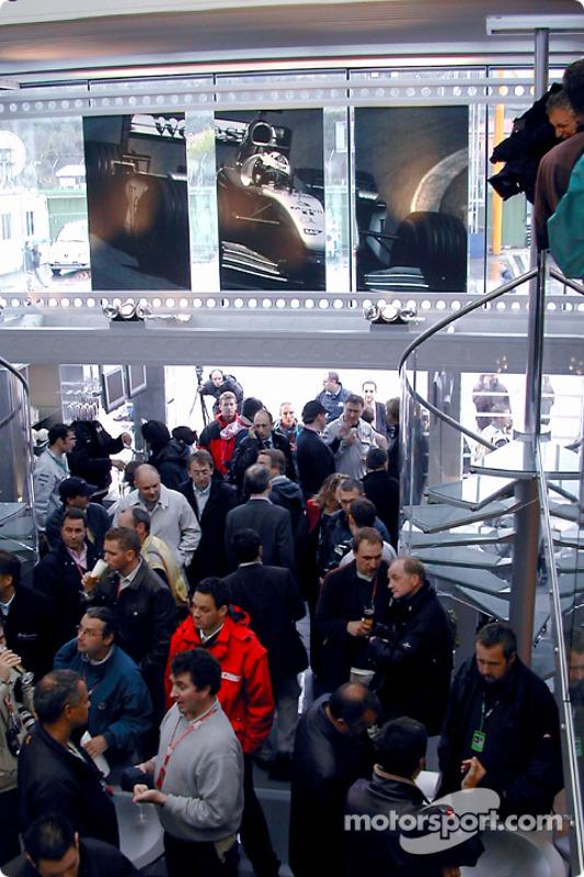 The West McLaren Mercedes Team Communications Centre opening event