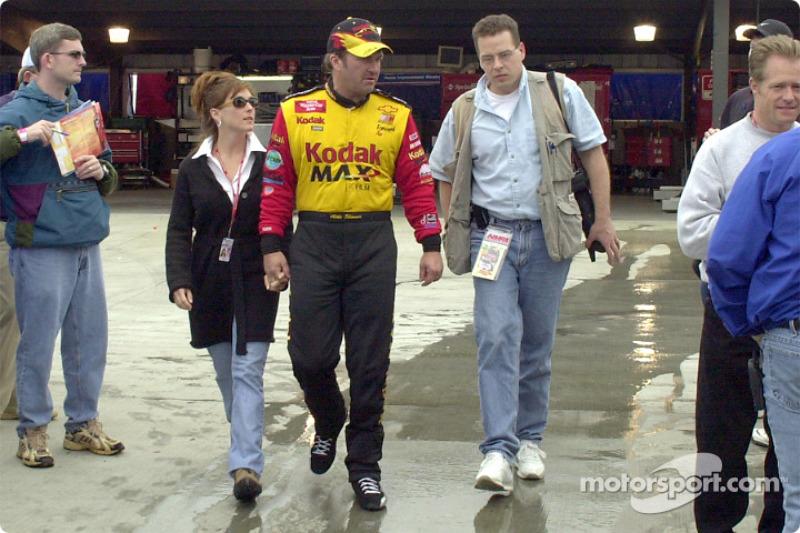 Tom Chemris de Motorsport.com' con Mike Skinner