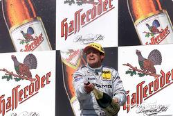 El podio: Jean Alesi