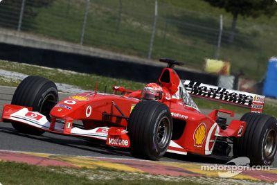 Ferrari April test sessions