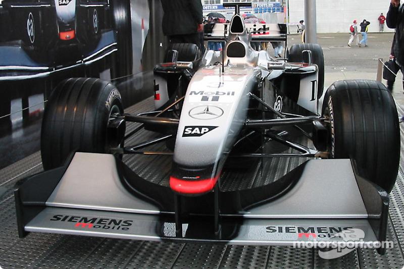 McLaren exposition in the paddock