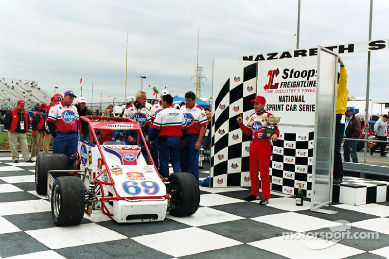 Tracy Hines Sprint winner