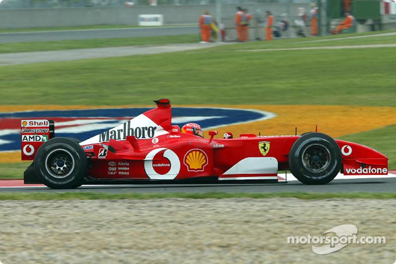 #46 GP d'Espagne 2002 (Ferrari F2002)