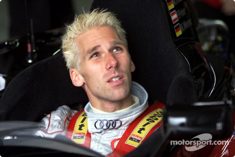 Piloto de trabajo de Audi, Michael Krumm
