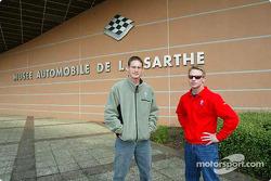 Visita al Museo de Le Mans: Gunnar Jeannette y David Donohue