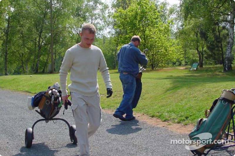 Un juego de golf dentro de Le Mans con el Equipo Panoz: Jan Magnussen