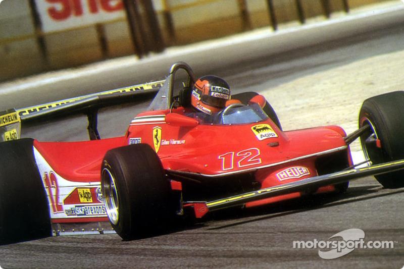 Gilles Villeneuve: 6 galibiyet