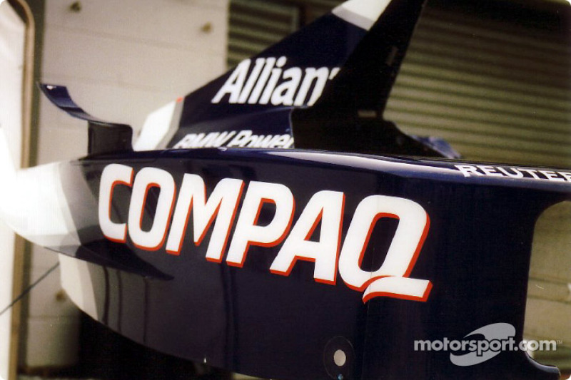 Williams bodywork