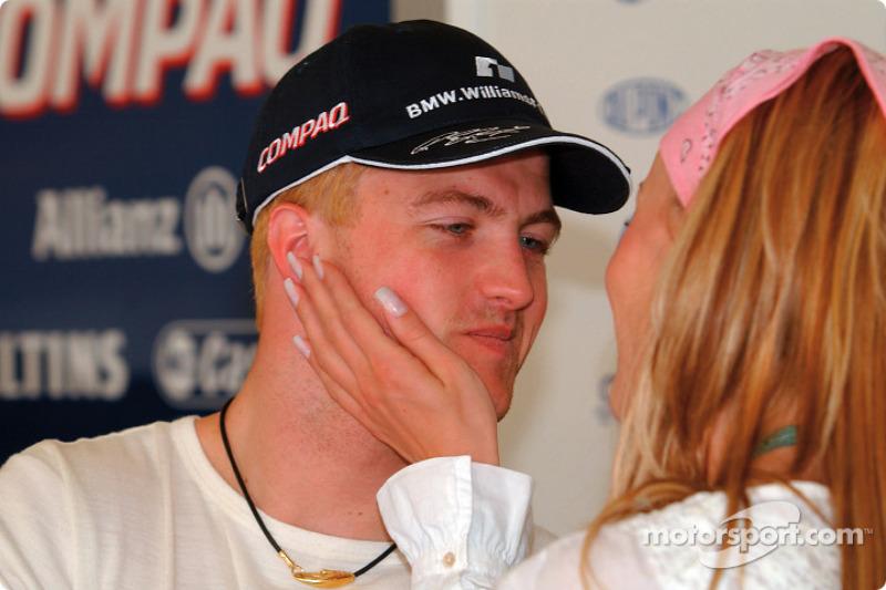 Ralf Schumacher y su esposa Cora