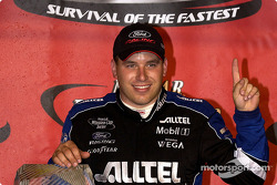 Rookie Ryan Newman was the fastest of the night winning The Winston