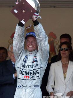 David Coulthard, ganador de la carrera