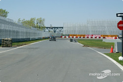 Preparation on the Circuit Gilles-Villeneuve