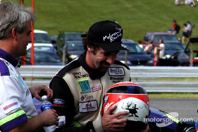 Race winner Boris Said