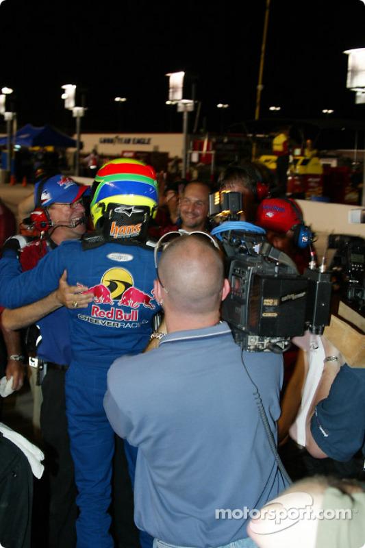 Le vainqueur de la pole position, Tomas Scheckter
