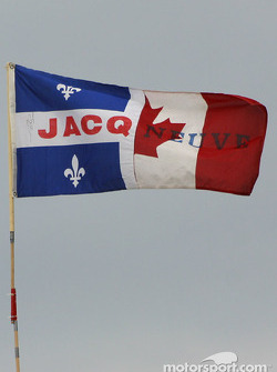 Jacques Villeneuve's fans are still in majority in Montreal