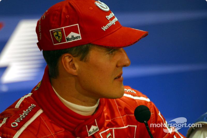 FIA Saturday press conference: Michael Schumacher