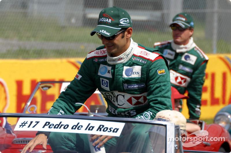 Desfile de pilotos: Pedro de la Rosa