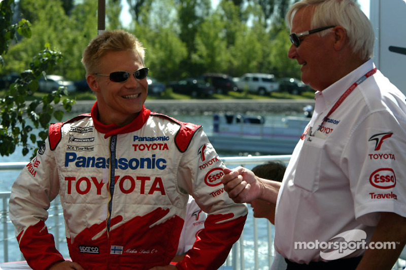 Mika Salo y Ove Andersson