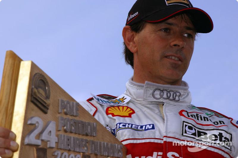 El ganador de la pole Rinaldo Capello