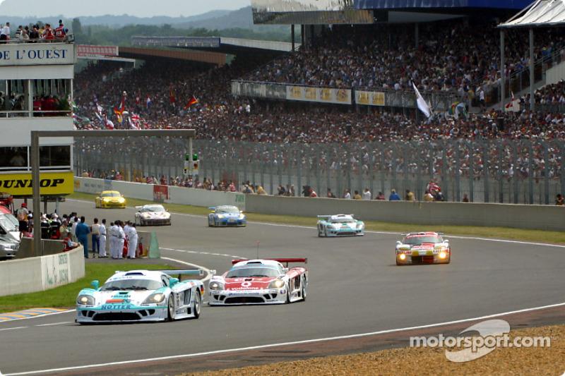 La arrancada: los autos de LM GT y GT