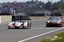 Late race action